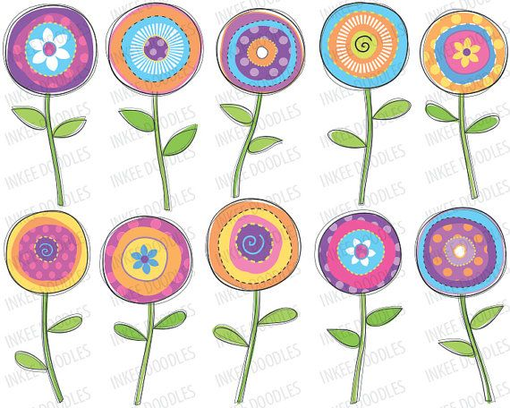 Floral clipart nature Clipart Floral # by $4