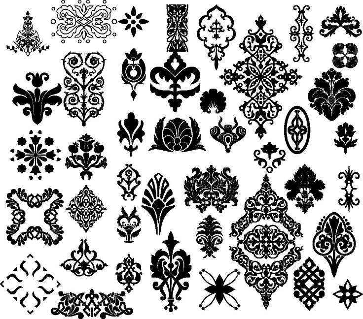 Floral clipart ornamental Corner Instant images Clipart Other