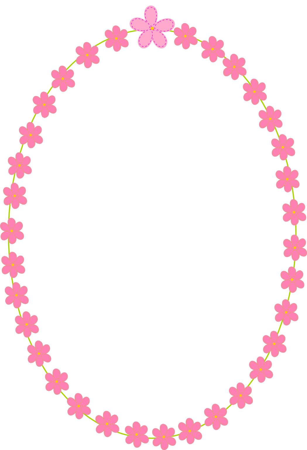 Vanilla clipart bunga  Frames And Flower Scrapbooking
