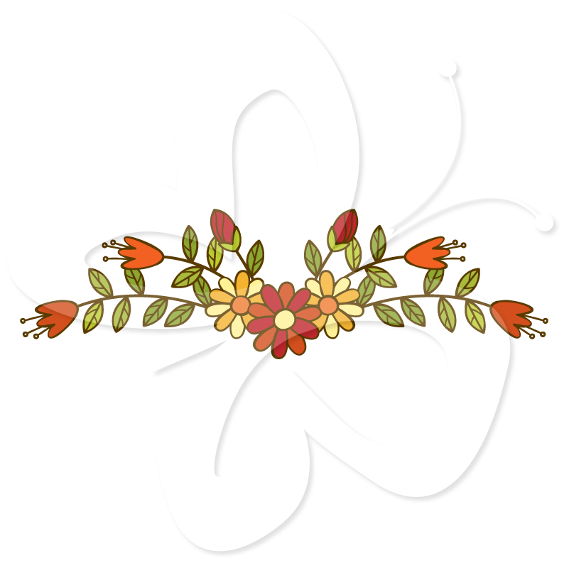 Orange clipart divider Gold Christian dividers page Clipart