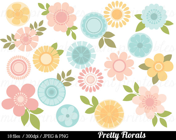 Pink Flower clipart pastel flower From Pastel Pink Flower Flowers