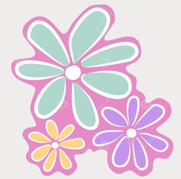 Floral clipart pink flower Cliparts Flower JPG 18+ Design