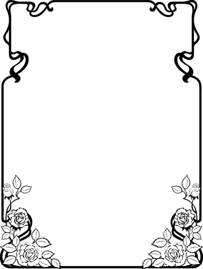 Frame clipart black and white Clip Borders Download For Religious