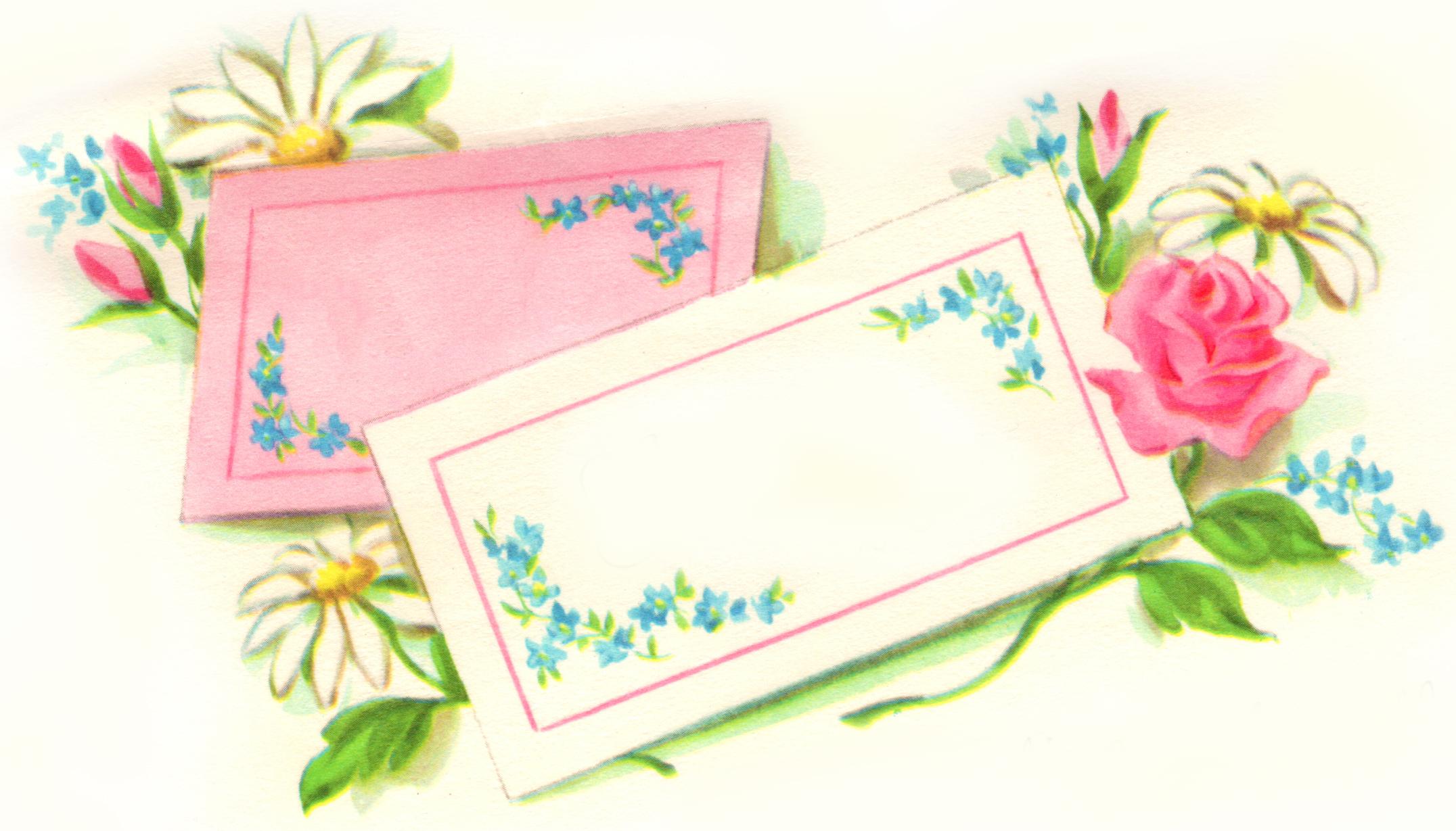 Floral clipart retro flower Clip xo Art Flower