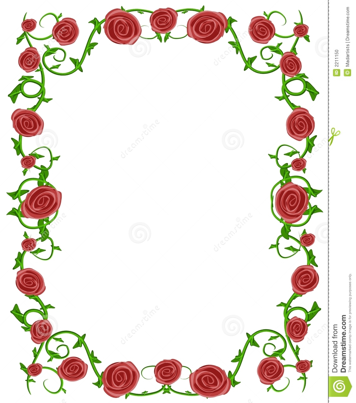Floral clipart rose border Clipart Pink Images Clip Free