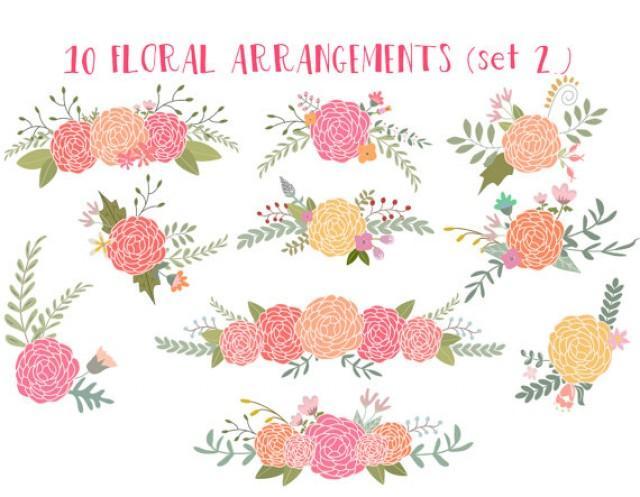 Rustic clipart wedding floral #2242333 Wedding Art Clipart Clip