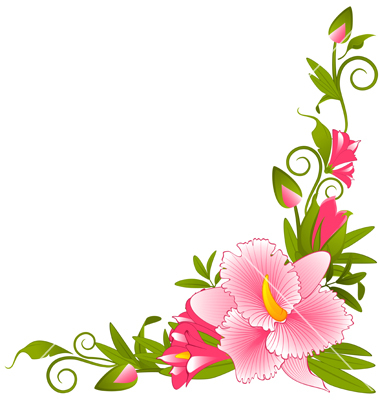 Pansy clipart border Use these Art Border free