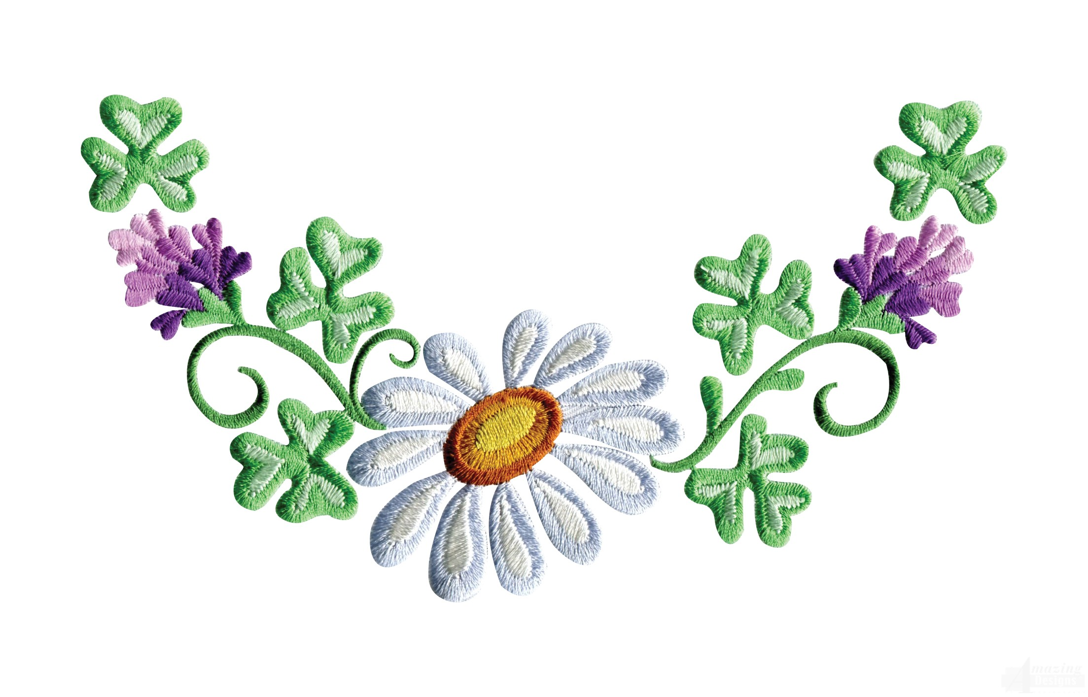 Simple clipart floral design #11