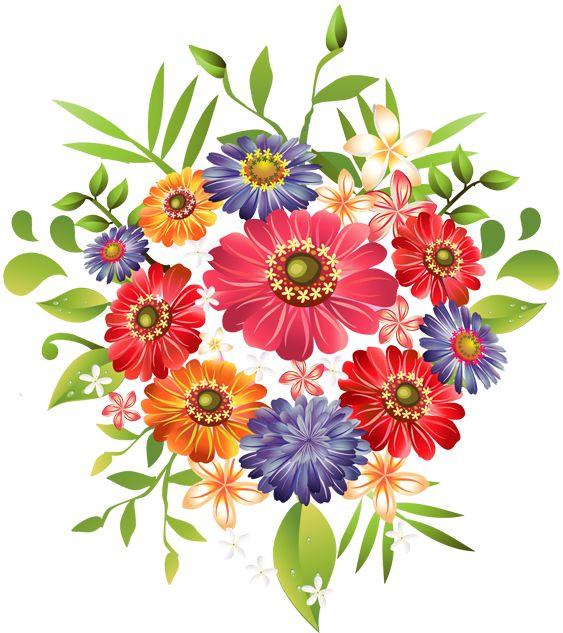 Floral clipart small flower Summer best images about 175