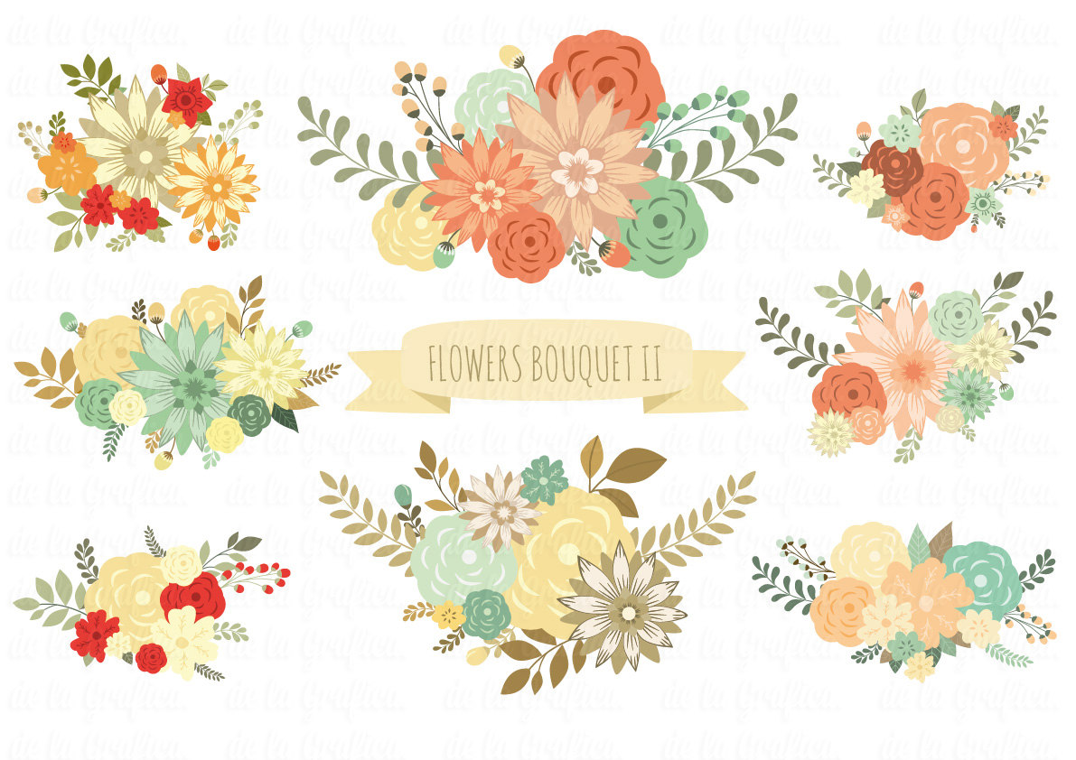 Floral clipart small flower Clip Download  Clip art