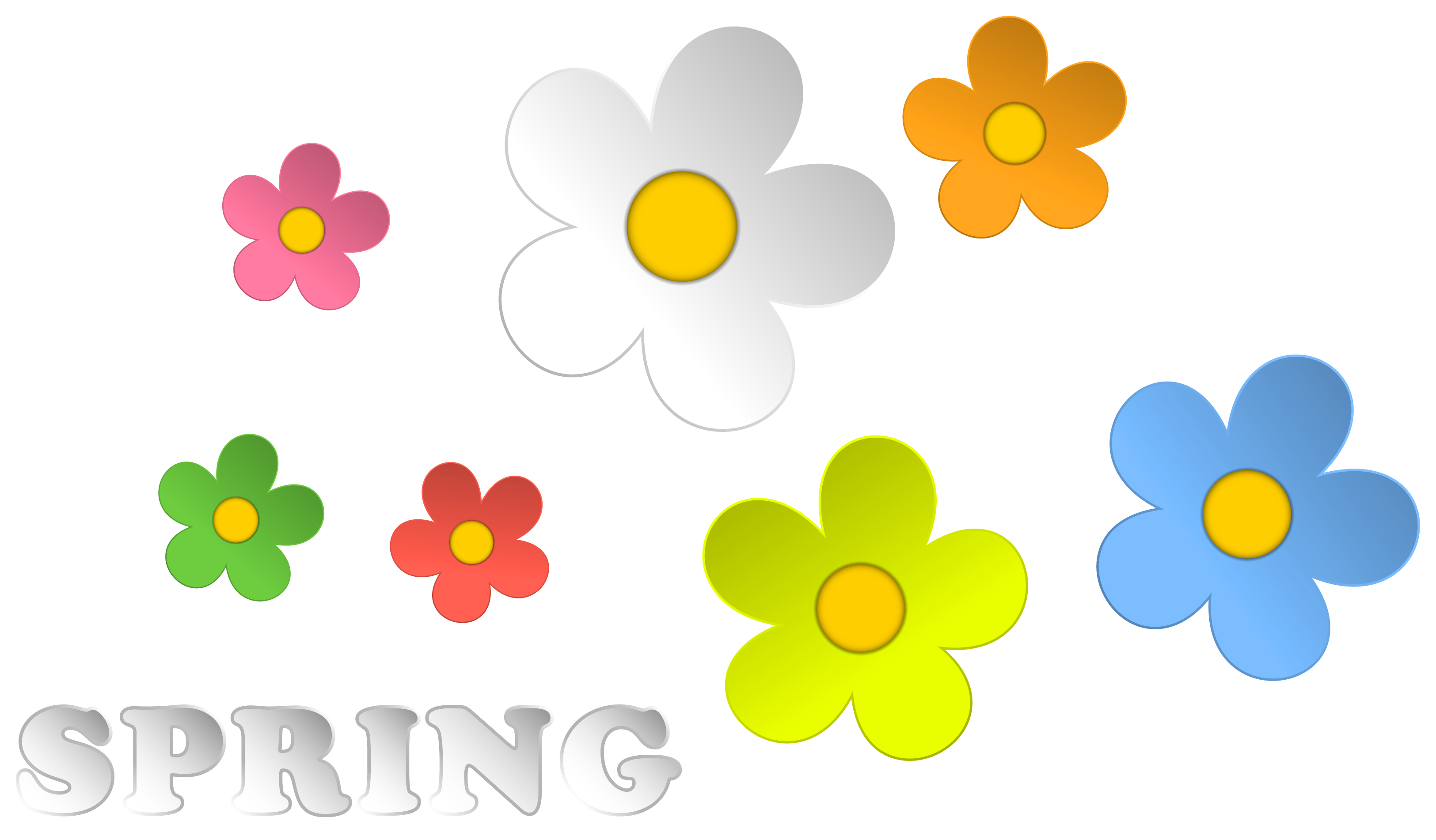 Pink Flower clipart springtime Free Art Free Download Free