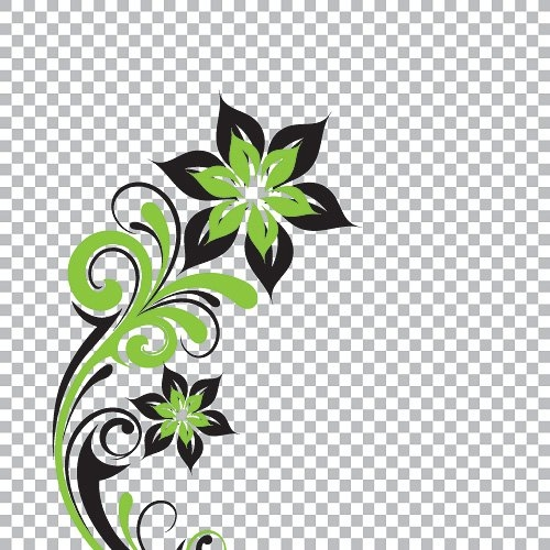 Floral clipart transparent background  Background Flower Transparent Download