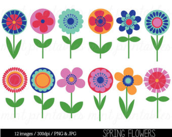 Floral clipart tree Clipart Clipart Bright Tree Art