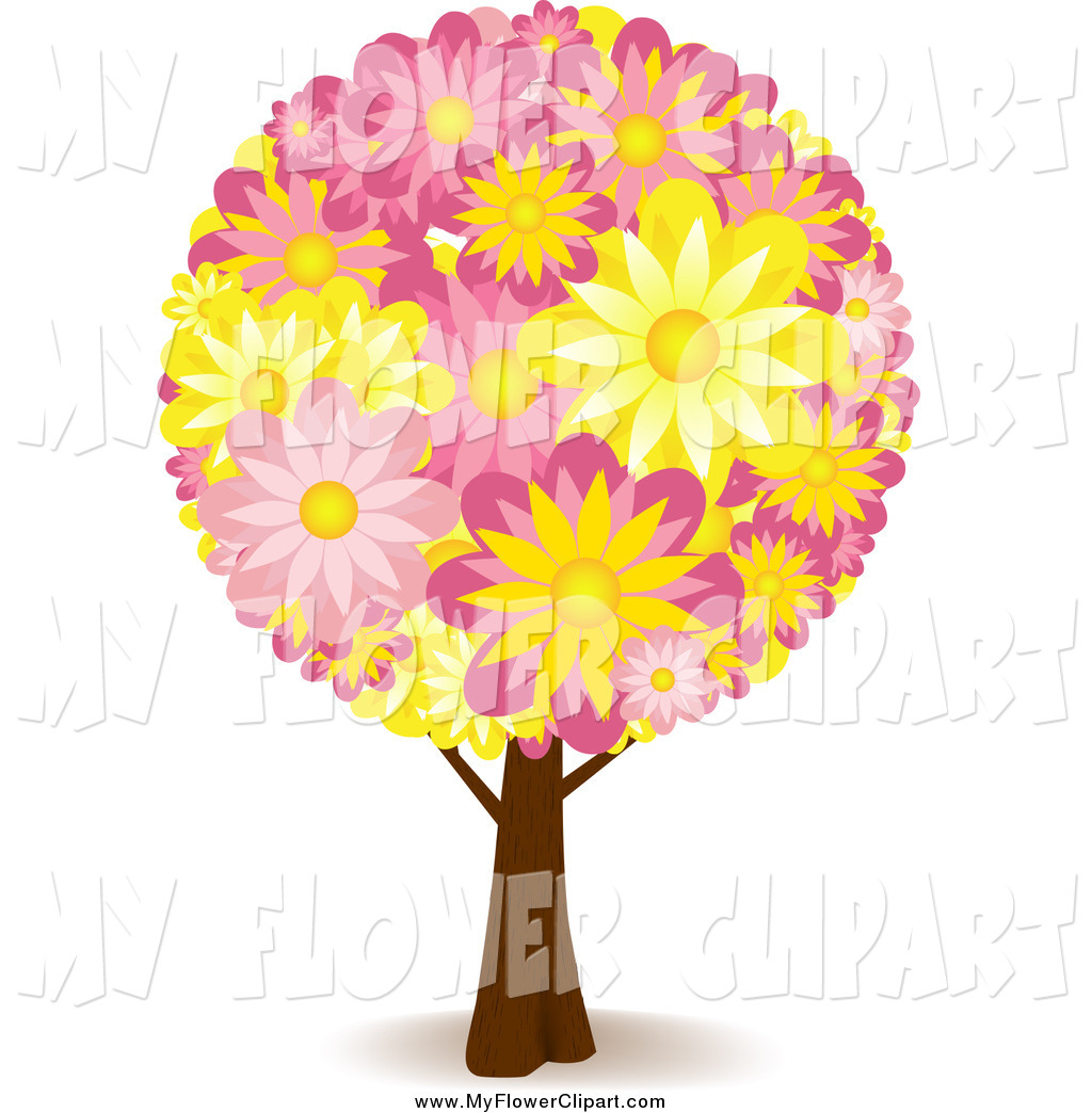 Floral clipart tree #1056 Art Floral a Tree