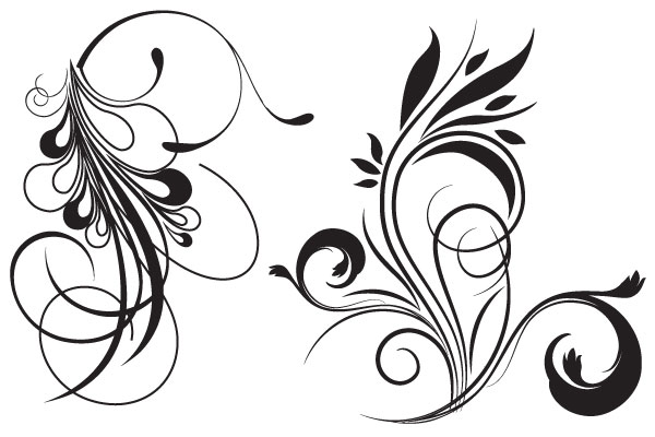 Floral clipart tribal Library Free Clipart Free Clip
