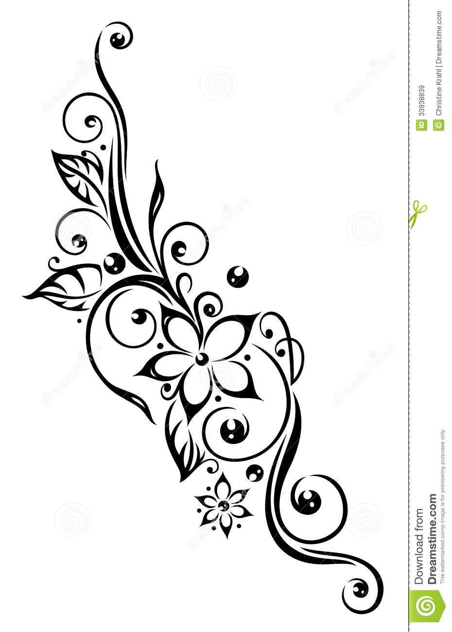 Floral clipart tribal Google flower tattoo lotus ideas