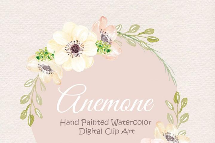 Water Color clipart watercolour Flower Pink Clipart watercolor Art