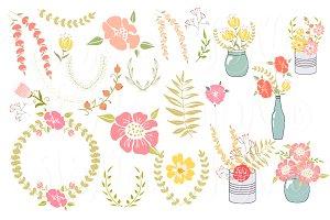 Floral clipart wedding Clipart unique Floral Wedding 14