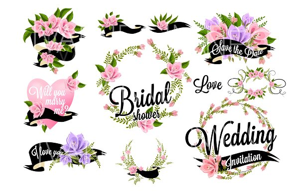 Floral clipart wedding 37 37 Creative Wedding Floral