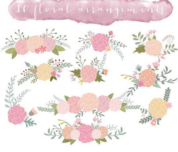 Rustic clipart wedding floral Wedding Clipart clipart clip #2233187