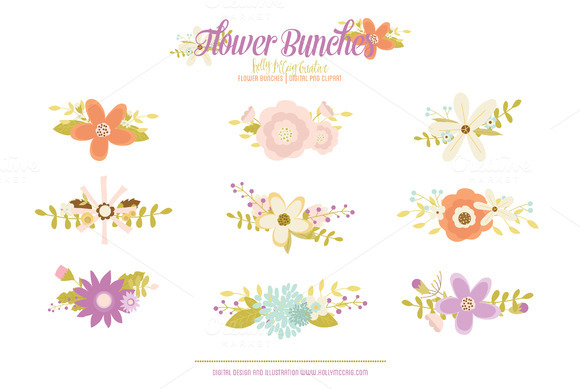 Floral clipart whimsical Art images Art Clip Whimsical