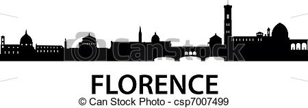 Florence clipart Art  vector Vector detailed