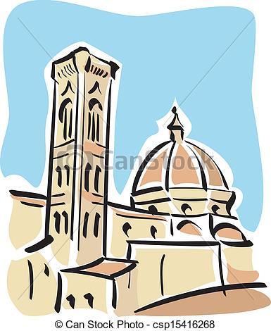 Florence clipart Duomo) csp15416268 Florence Duomo) Florence