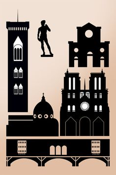 Florence clipart americans Art Instant tattoo Silhouette City