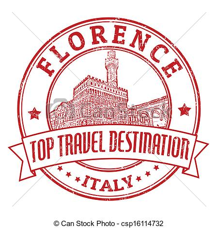 Florence clipart Travel csp16114732 stamp stamp Florence