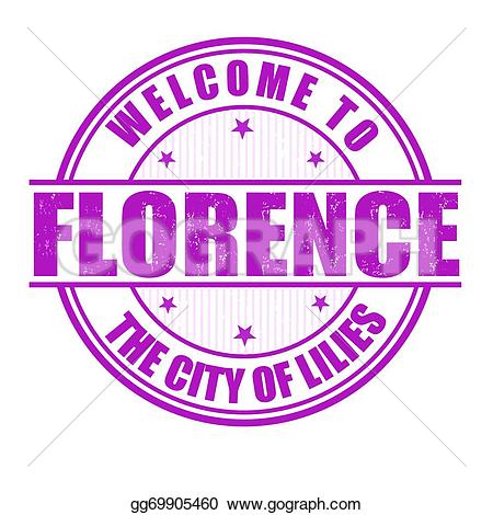 Florence clipart stamp City vector gg69905460 Welcome of