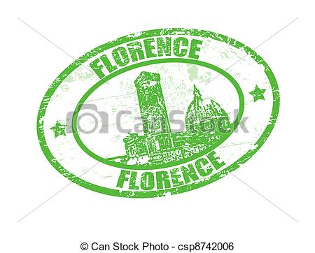 Florence clipart stamp Of  Florence stamp Clip