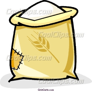 Flour clipart Sack of Clipart flour flour