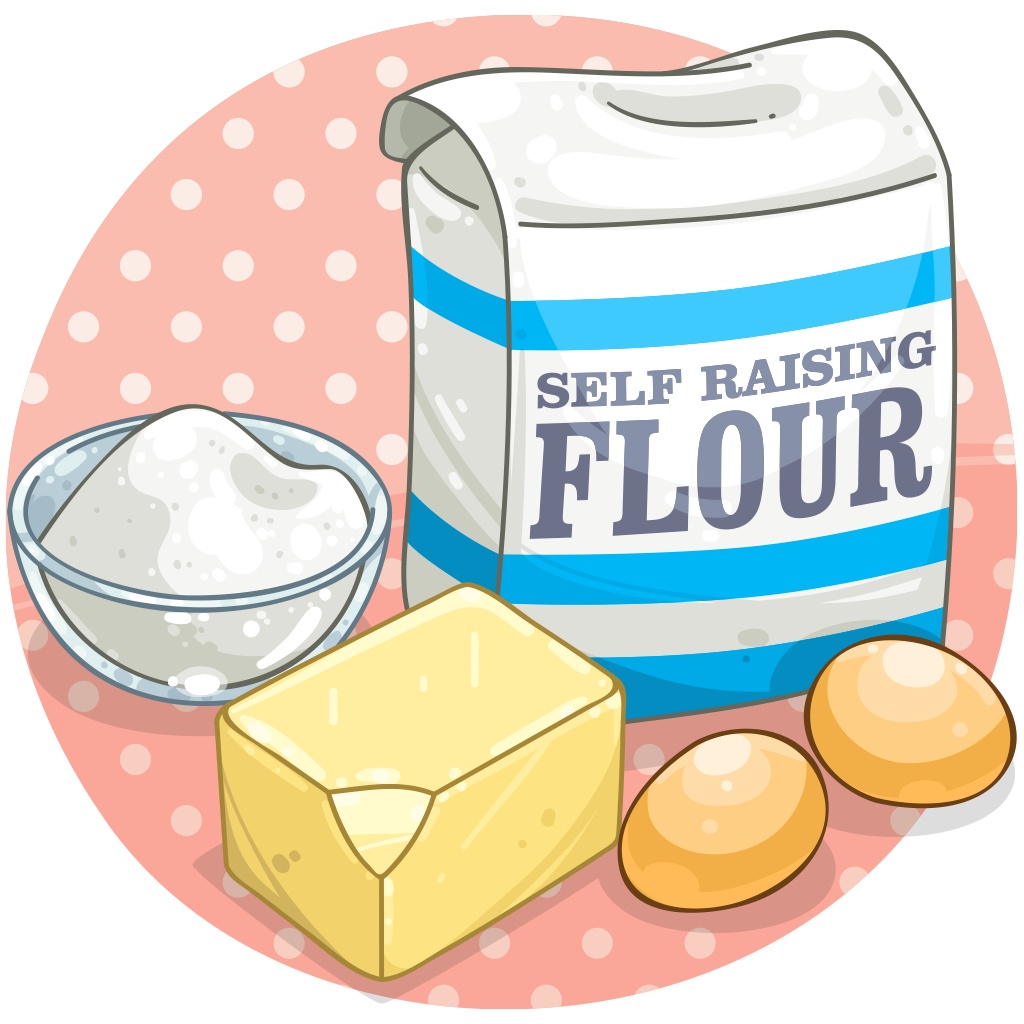 Flour clipart ingredient Cupcake Birthday Detail Cupcake ItemBrowser