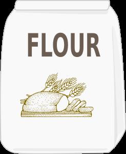 Flour clipart sack flour  IMAGE (PNG) Clipart SMALL
