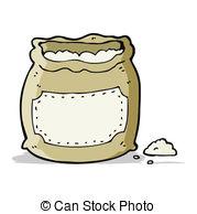 Flour clipart sack flour Cartoon Clip of flour csp17737238