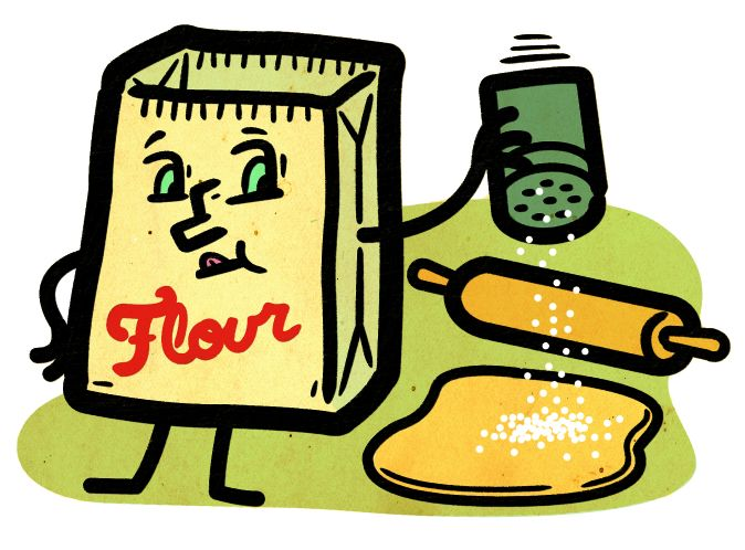 Flour clipart shaker In Hack: the a do