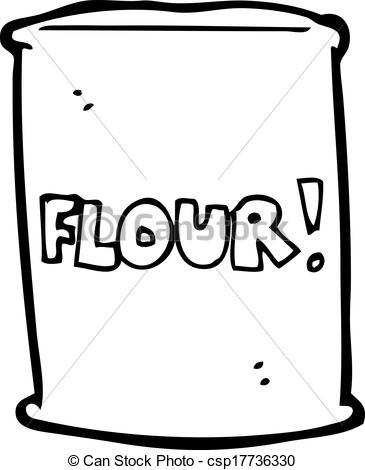 Flour clipart vector Vectors of cartoon of Vector