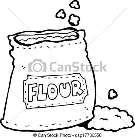 Flour clipart vector Clipart of of Vector Vector