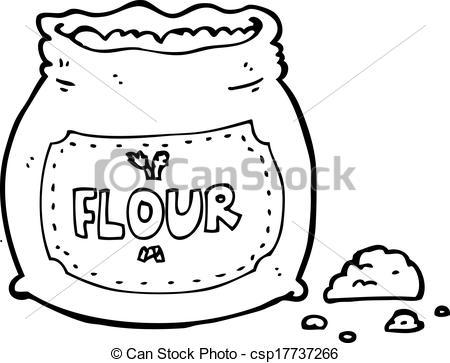 Flour clipart vector Clip of Vector Art Vector