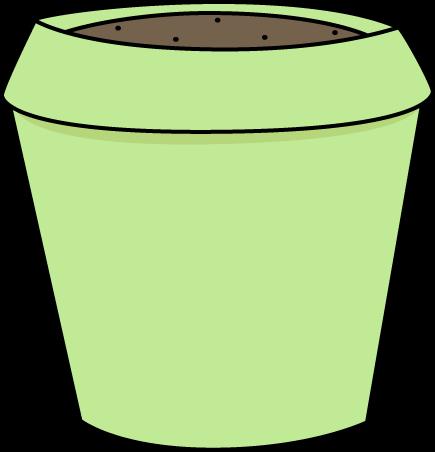 Flowerpots clipart Pot Flower Green Art Clip