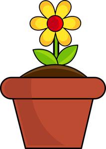Flowerpots clipart Clipart pot Pot Flower Savoronmorehead