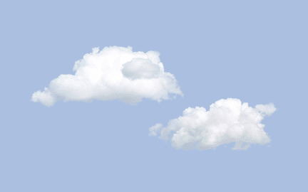 Light Blue clipart cloudy sky Stars little Graphics fluffy Sky