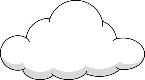 Clouds clipart cute cartoon On Clip Cloud Free Cartoon