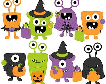 Monster clipart halloween monster #1