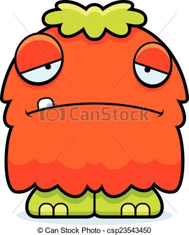 Monster clipart sad Monster Vector Sad Monster cartoon