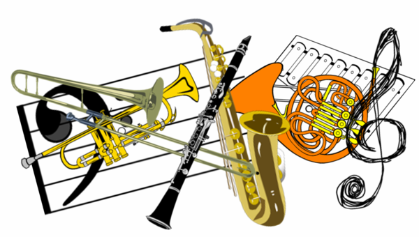 Flute clipart band instrument Class french a an and