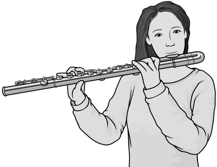 Flute clipart band instrument World on best musical about