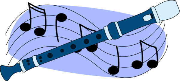 Flute clipart blue Decimal PNG Flute Transparent Other