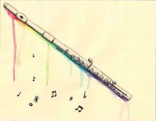 Flute clipart instrumental music Images best on about Flute
