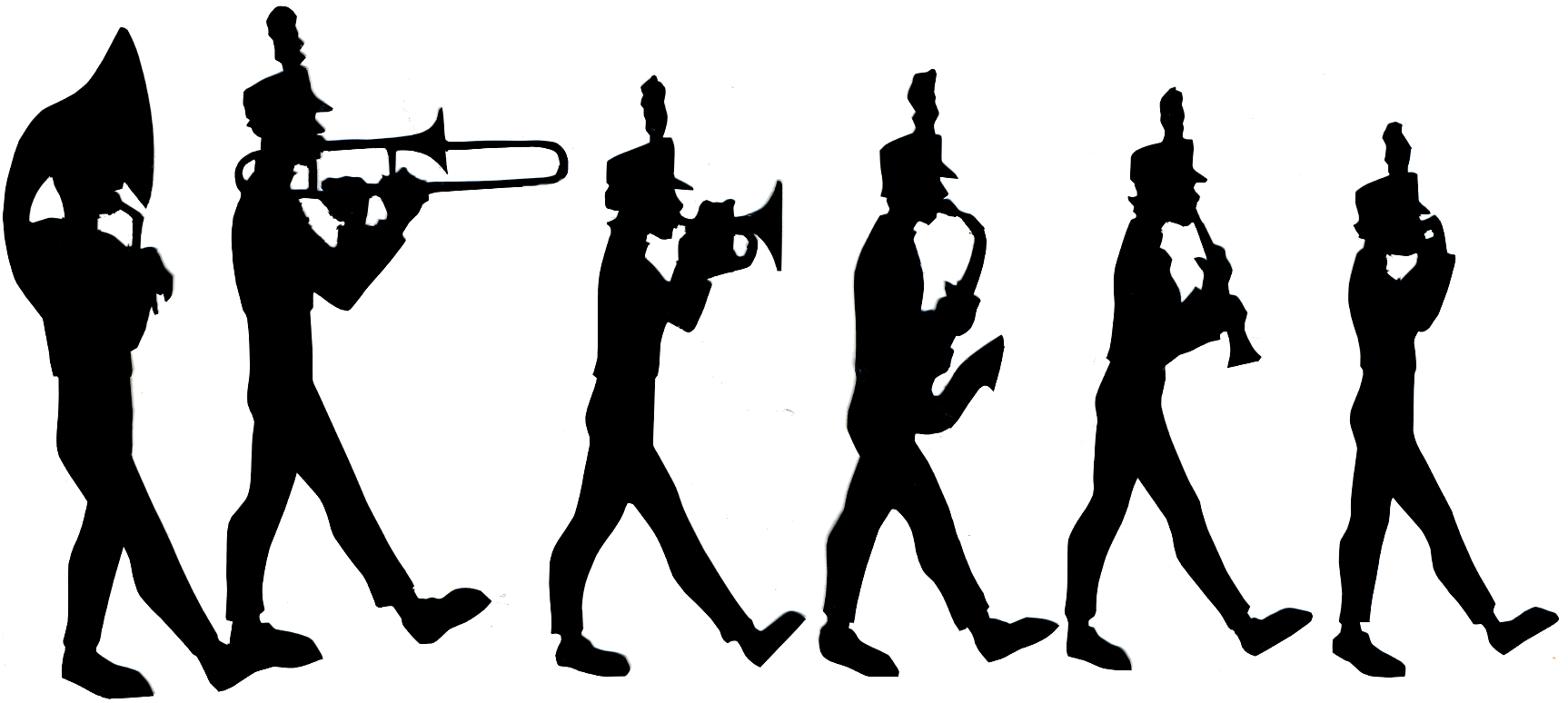 Flute clipart marching band Wave Marching The  Sound
